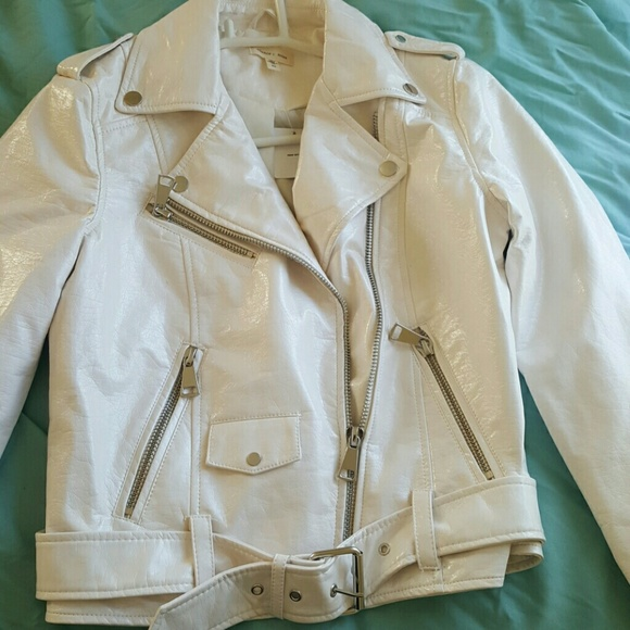 Patent leather Urban Outfitters jacket 7e0e5093f